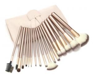 12 18 24pcs wooden handle Cosmetic Brush Sets