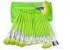 24pcs Green Makeup brush kit Bag