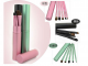 5pcs super slim portable Travel Makeup brush Kit